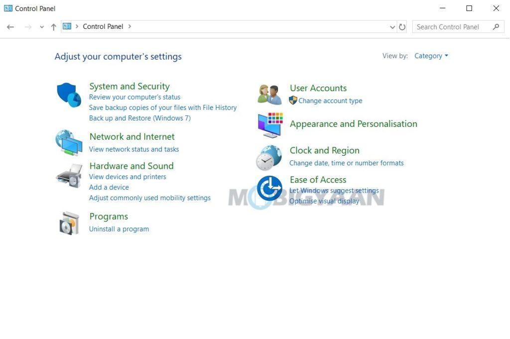 5 formas de abrir el panel de control en Windows 10-4-1024x681