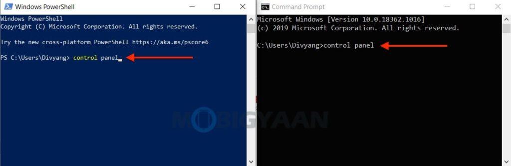 5 formas de abrir el Panel de control en Windows 10-7-1024x334