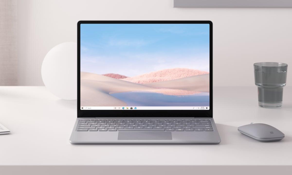Imagen promocional de Surface Laptop Go