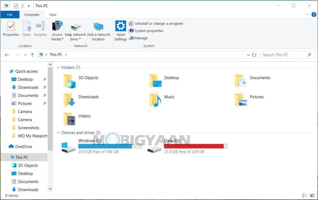 5 formas geniales de abrir el Explorador de Windows en Windows 10-5-1024x645