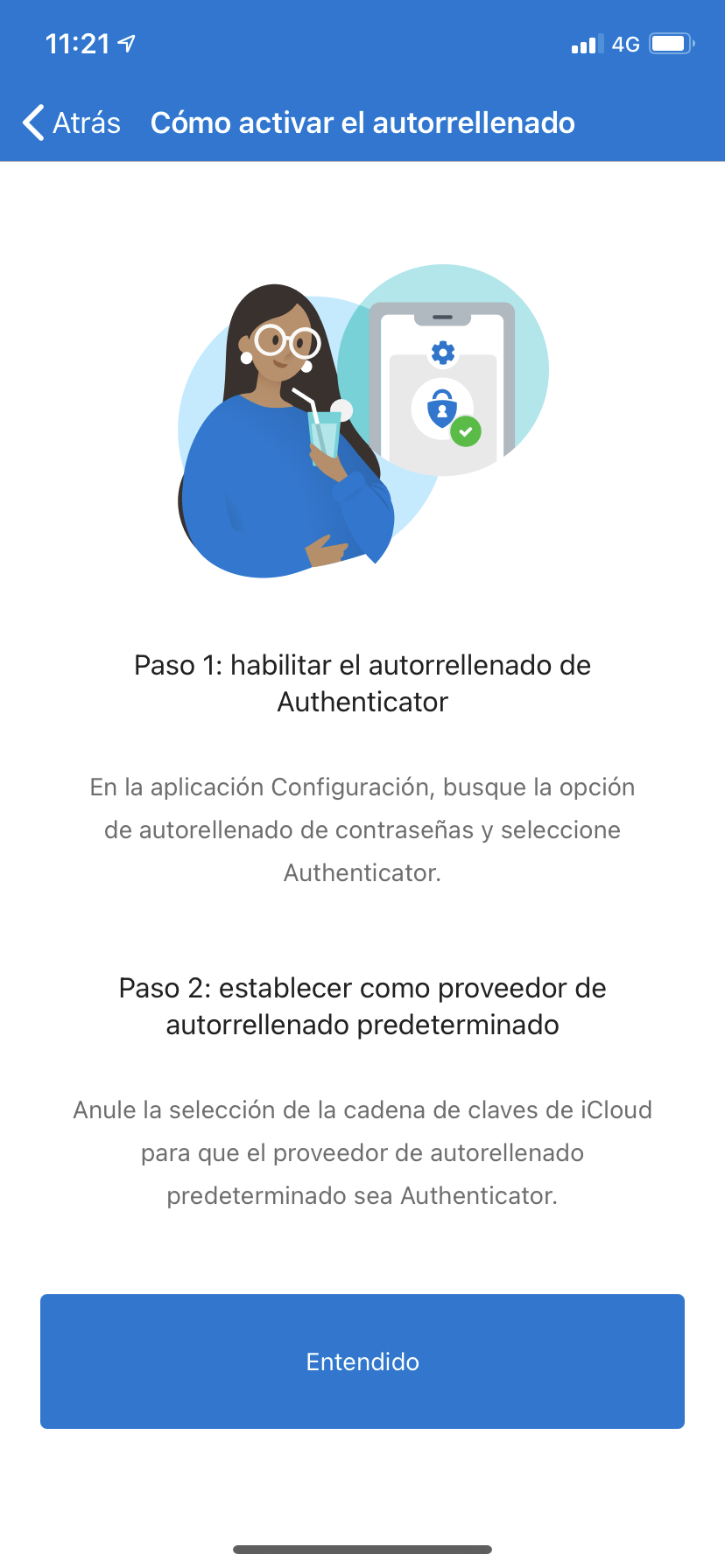 Cómo configurar Authenticator