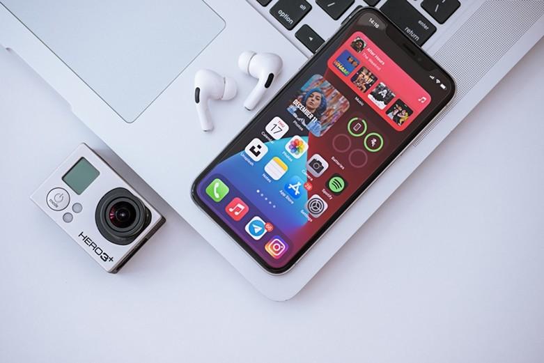 iOS-14 en iPhone
