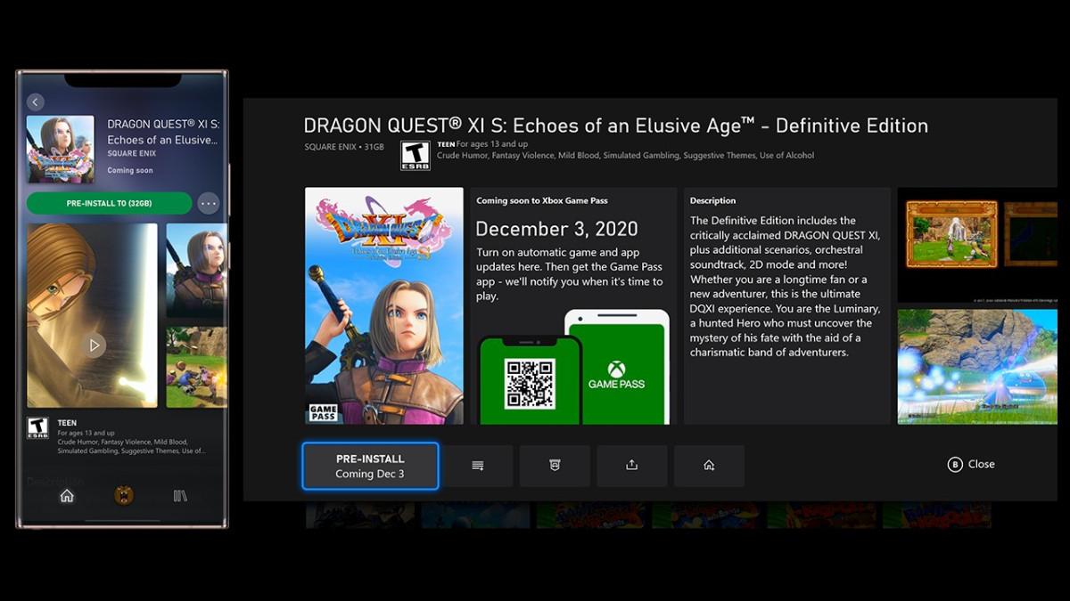 Descarga los juegos de GamePass antes