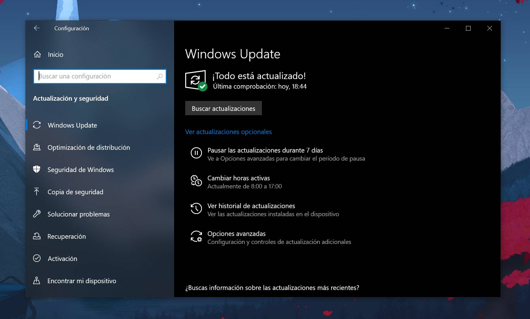 Windows Update y Windows 10