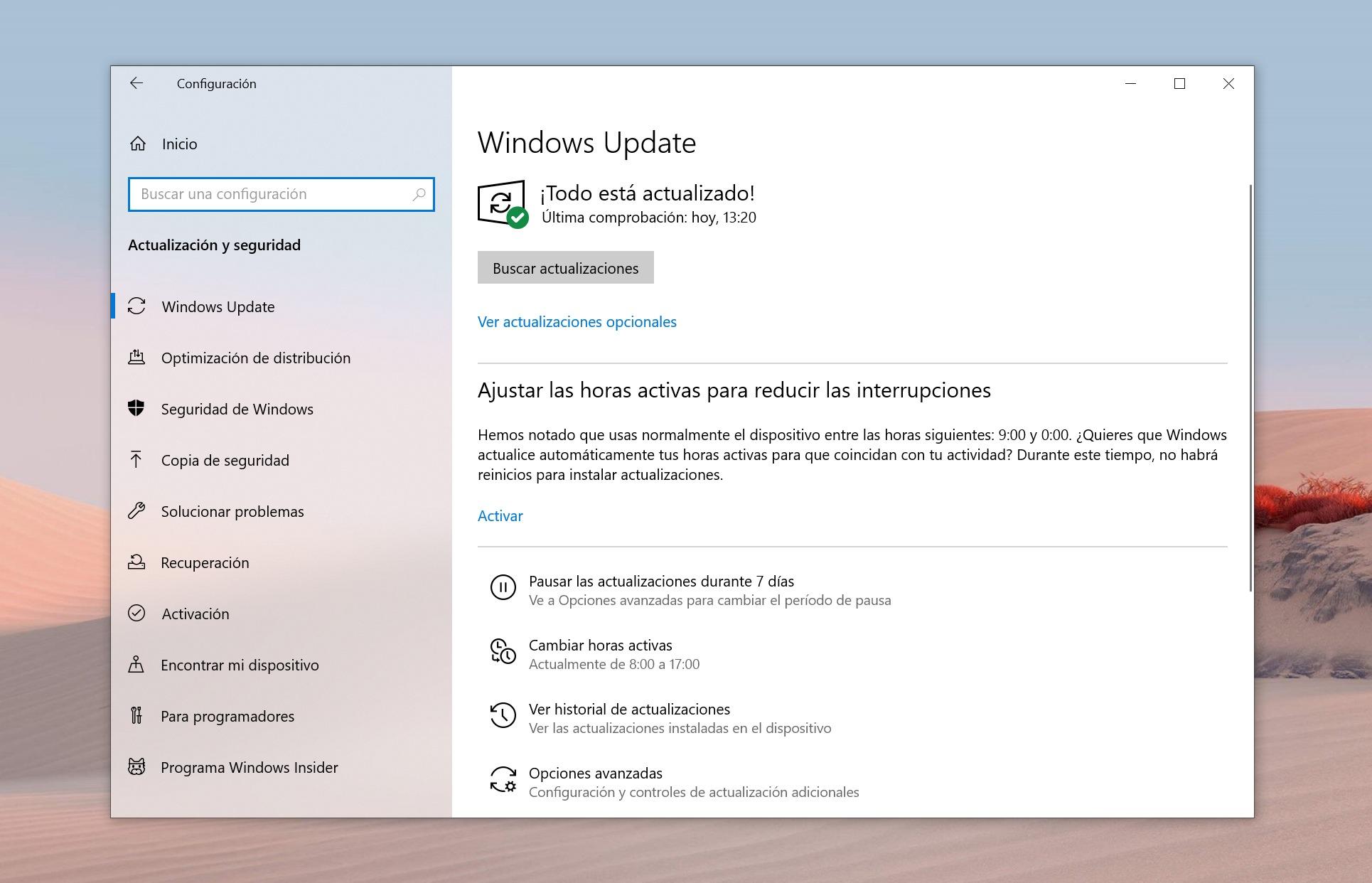 Windows Update y Windows 10