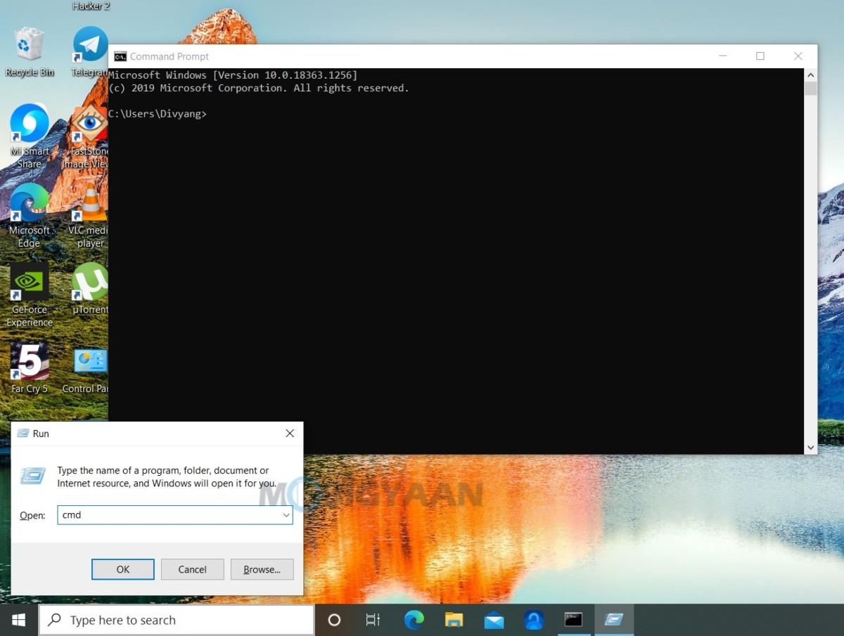 Cómo abrir el Explorador de archivos de Windows usando el símbolo del sistema de Windows 10-2