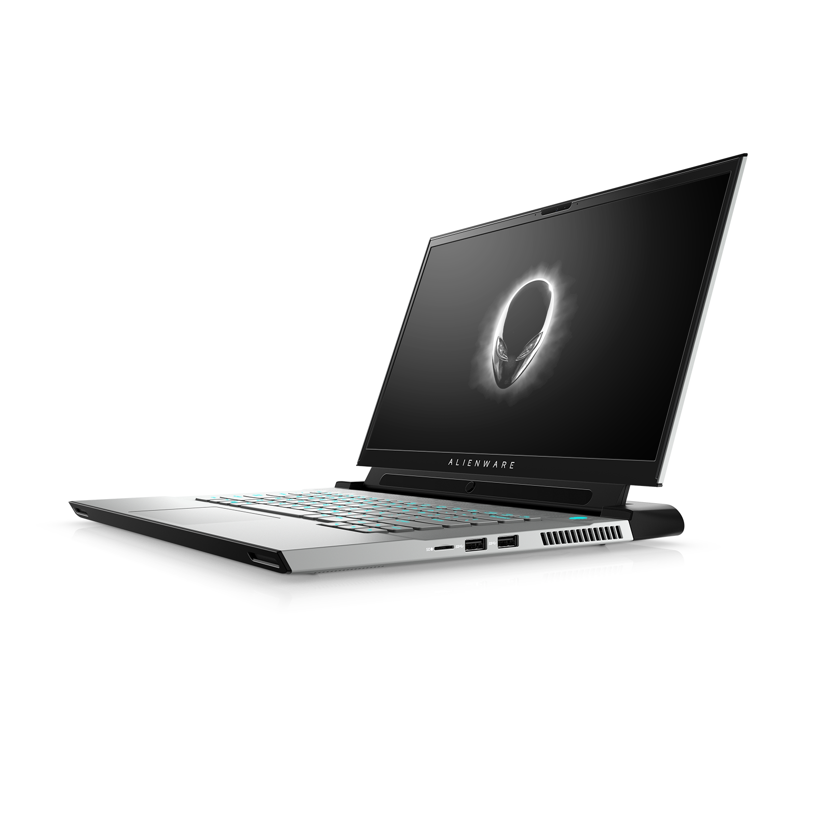 Vista lateral de Alienware m15 R4