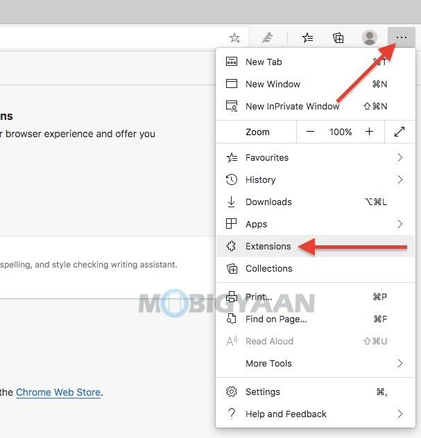 Cómo usar extensiones en Microsoft Edges-InPrivate-mode-1