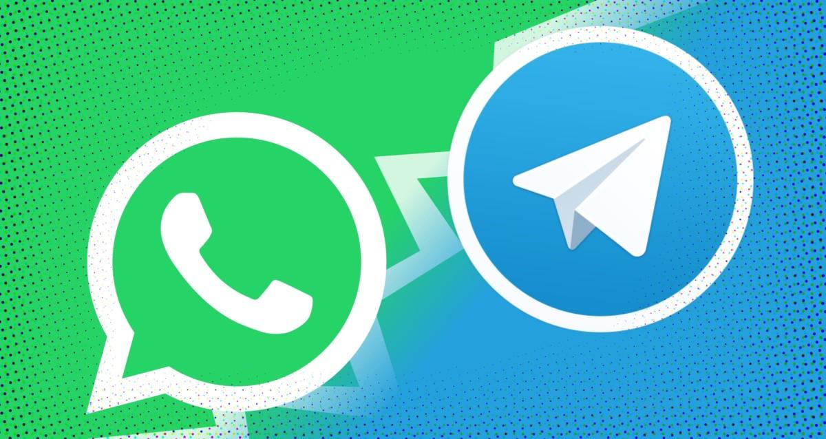 Telegrama de WhatsApp