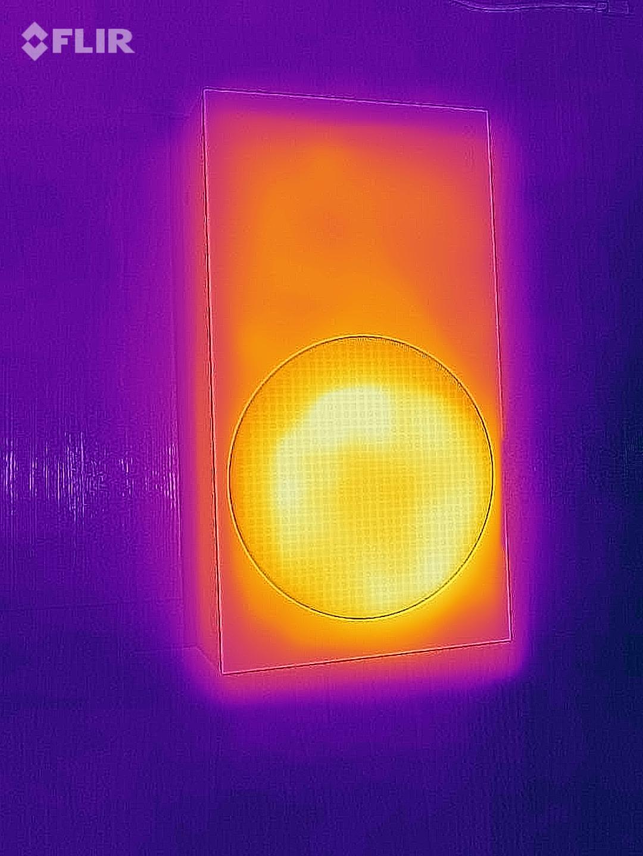 Flujo de calor en una Xbox Series S