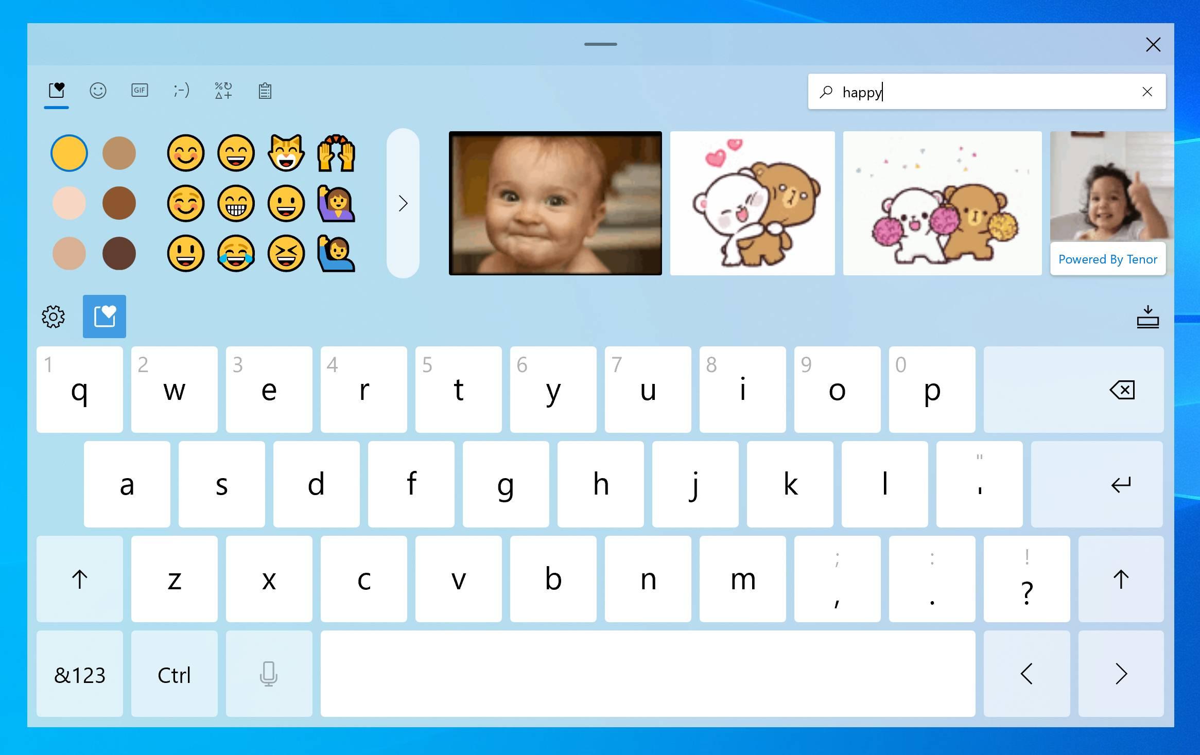 El teclado táctil llega a Windows 10 con Sun Valley