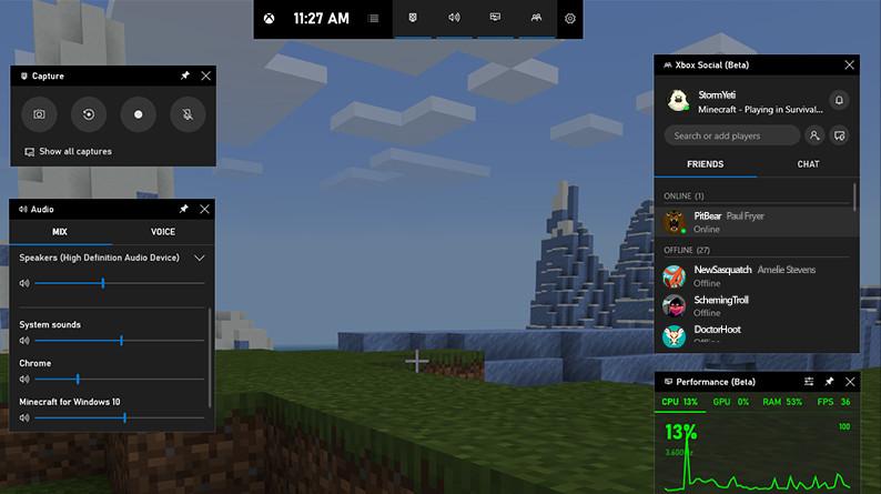 Cómo encender o apagar la barra de juegos de Xbox en Windows 10