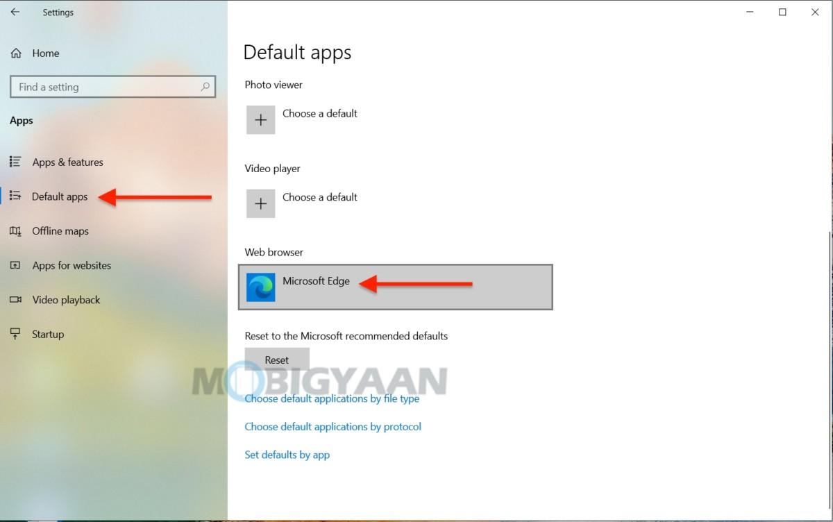 Cómo elegir aplicaciones y programas predeterminados en Windows 10-3