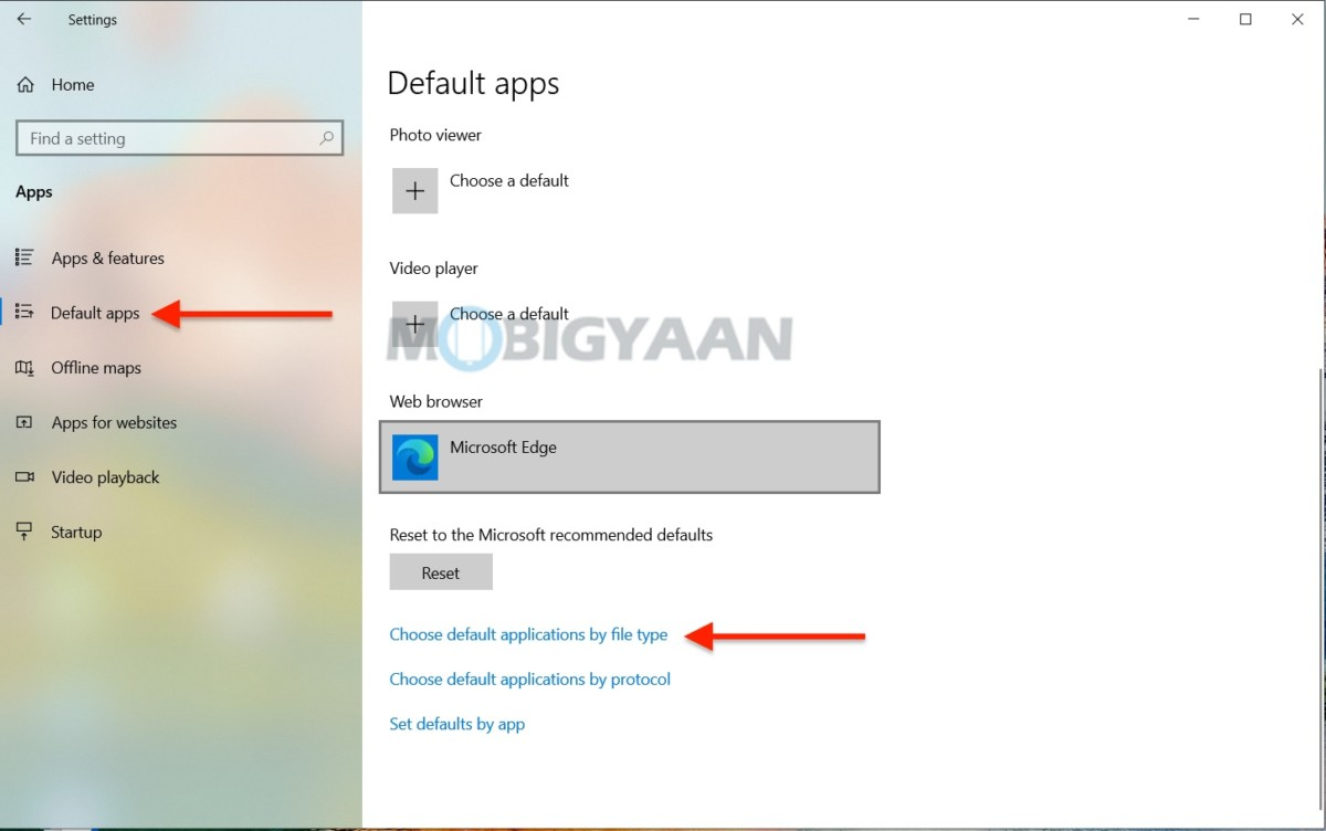 Cómo elegir aplicaciones y programas predeterminados en Windows 10-3-1