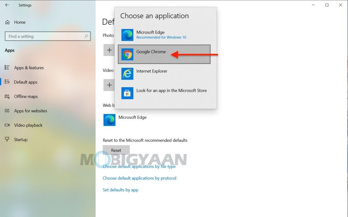 Cómo elegir aplicaciones y programas predeterminados en Windows 10-2