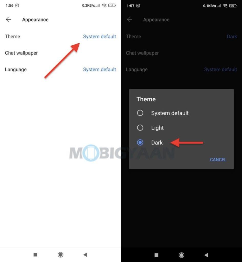 Cómo habilitar el modo oscuro en la aplicación móvil Signal 2-945x1024