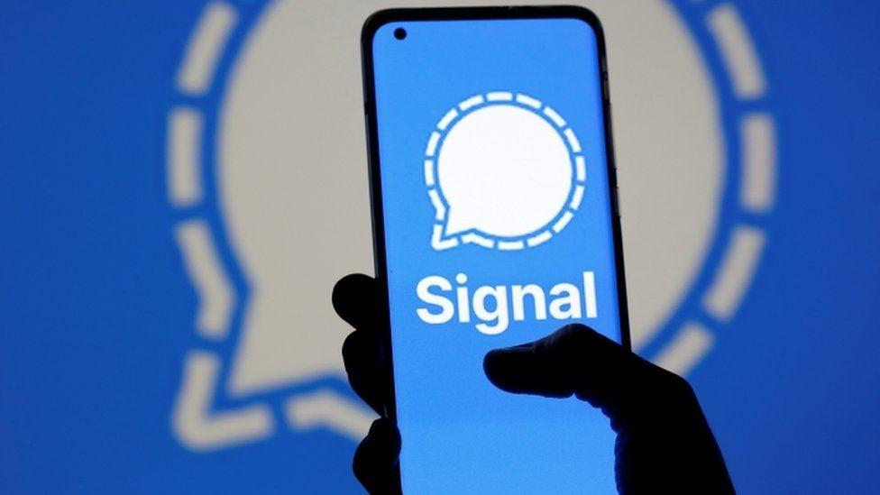 modo señal-aplicación-oscuro