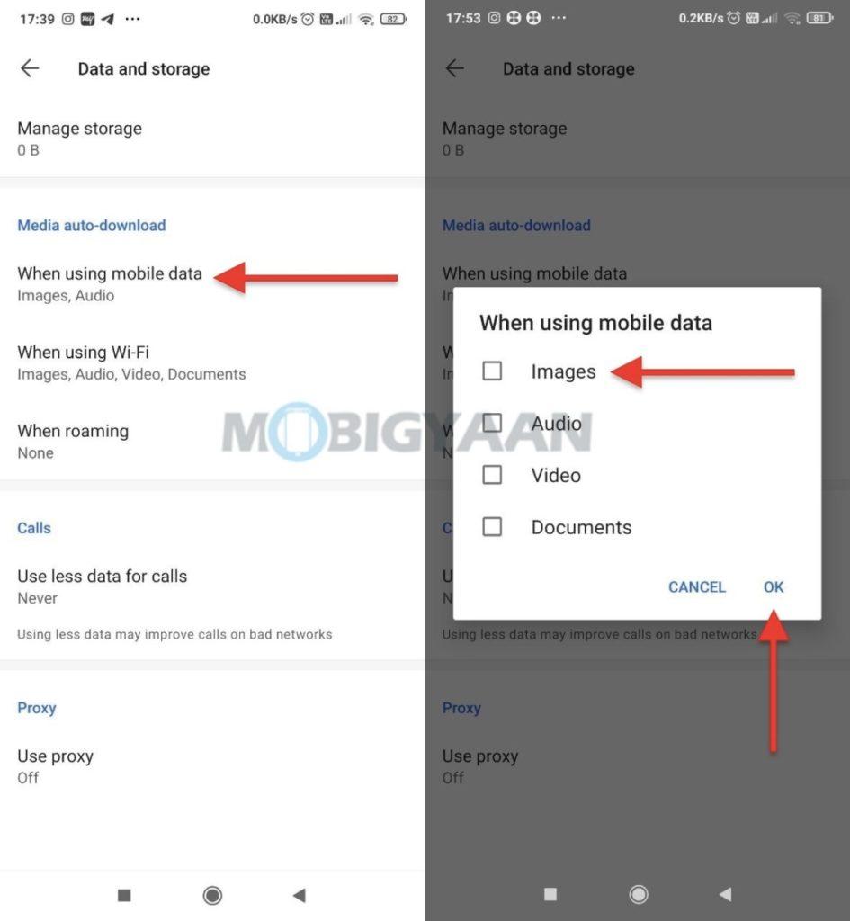 Cómo desactivar la descarga automática de medios en Signal para dispositivos móviles 945x1024