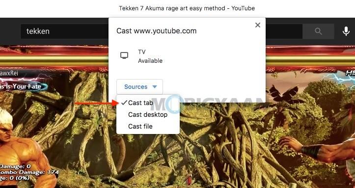 Cómo transmitir videos de YouTube a Android TV desde una computadora portátil o PC-4