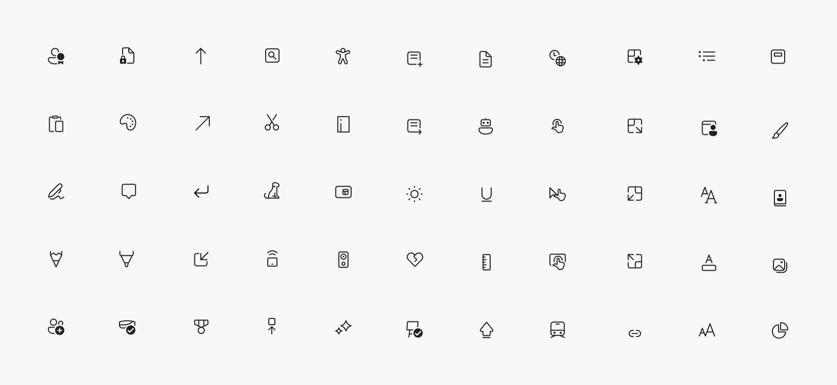 Los nuevos iconos de Segoe Fluent