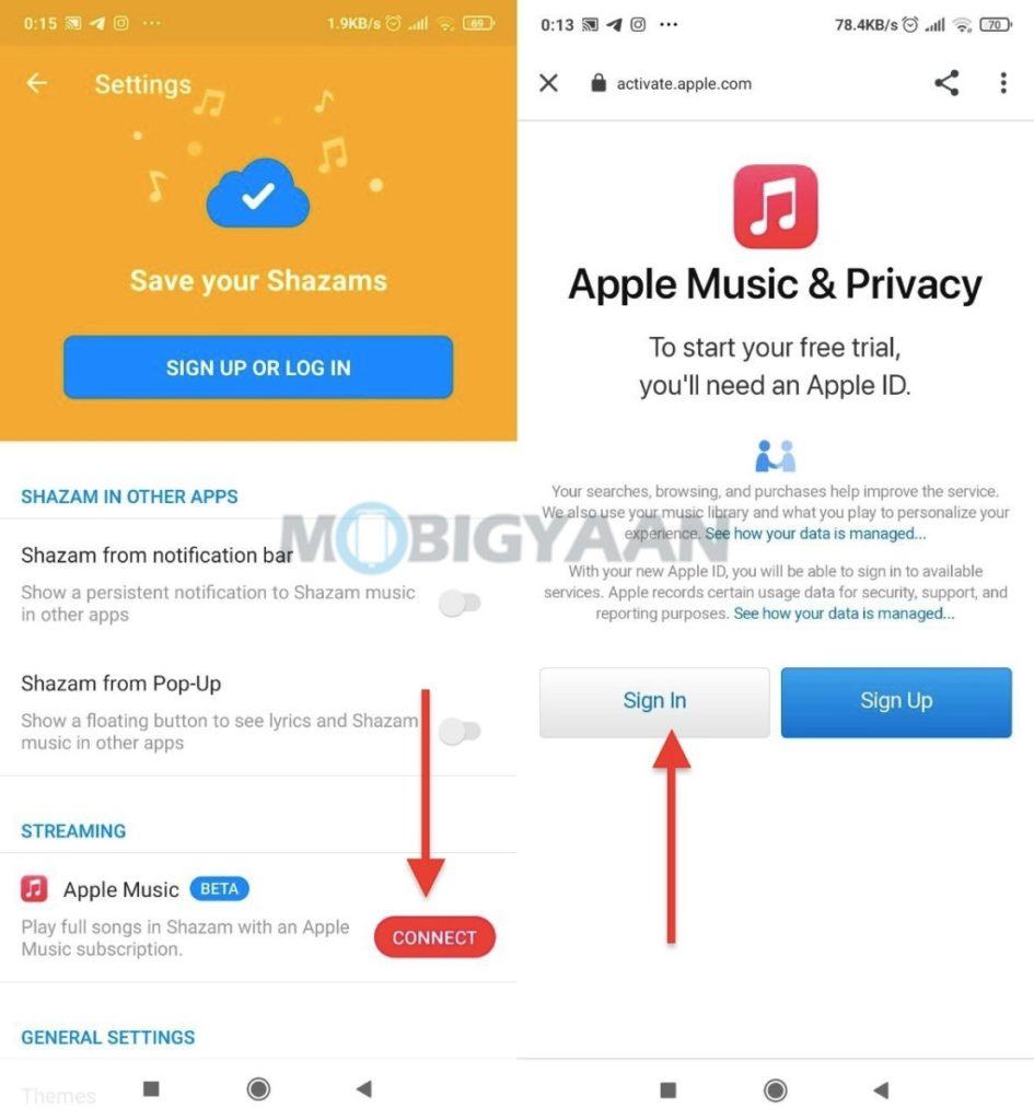 Cómo vincular Shazam a Apple Music en su teléfono inteligente 1-945x1024