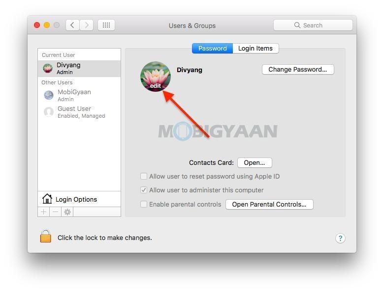 Cómo personalizar la pantalla de inicio de sesión en su Mac 4-1