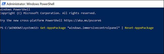 Restablecer la configuración de PowerShell-3