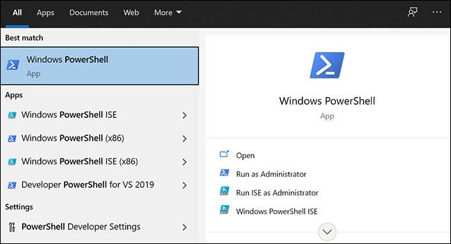 Restablecer la configuración de PowerShell-2