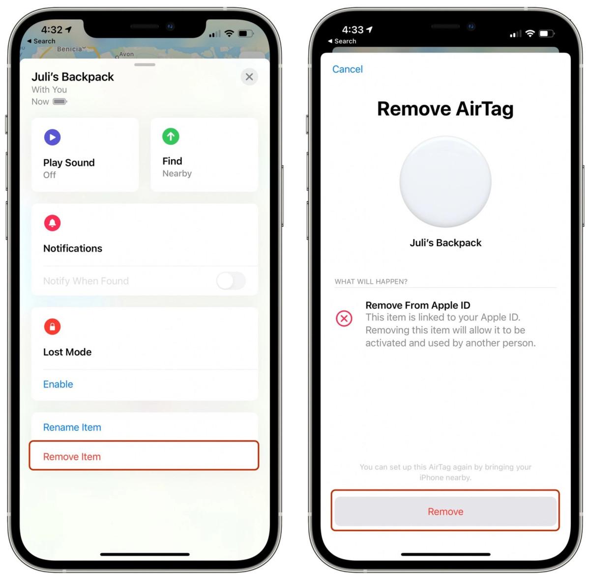 Restablecer-Apple-AirTag