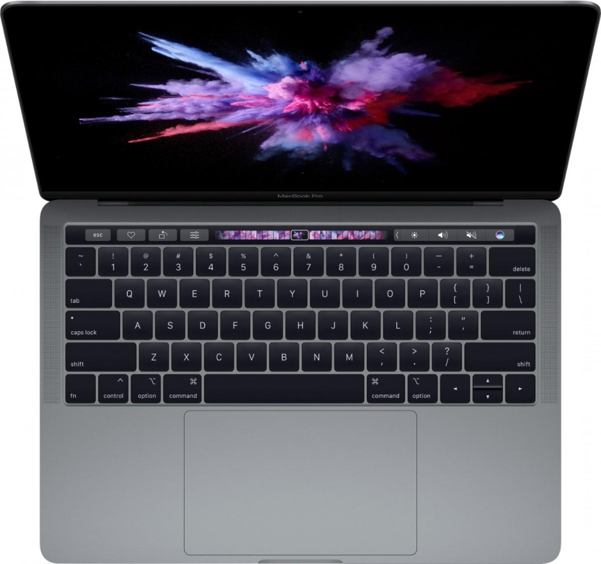 Barra táctil de MacBook Pro