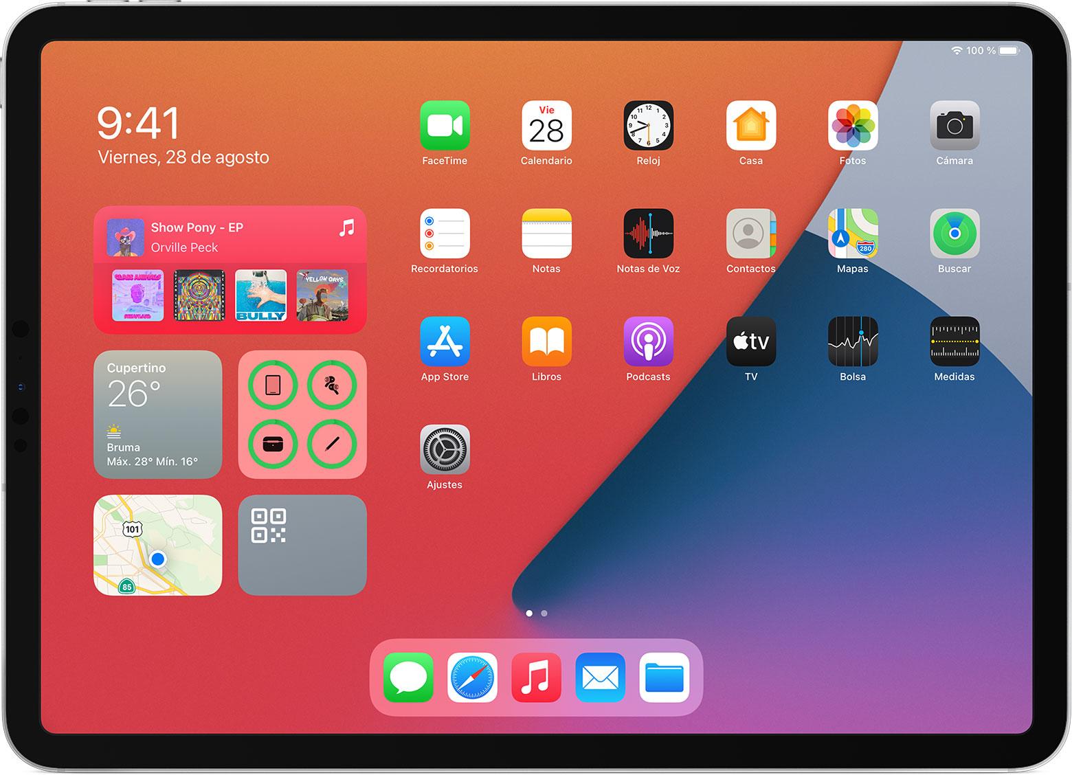 Widgets en iPadOS
