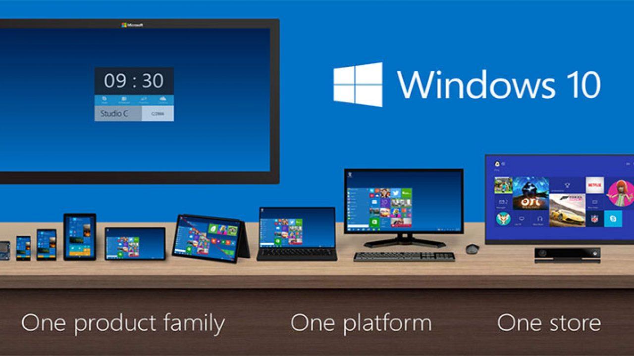 Imagen de presentación de Windows 10