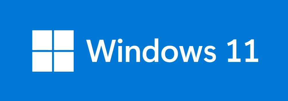 Logotipo de Windows 11 invertido