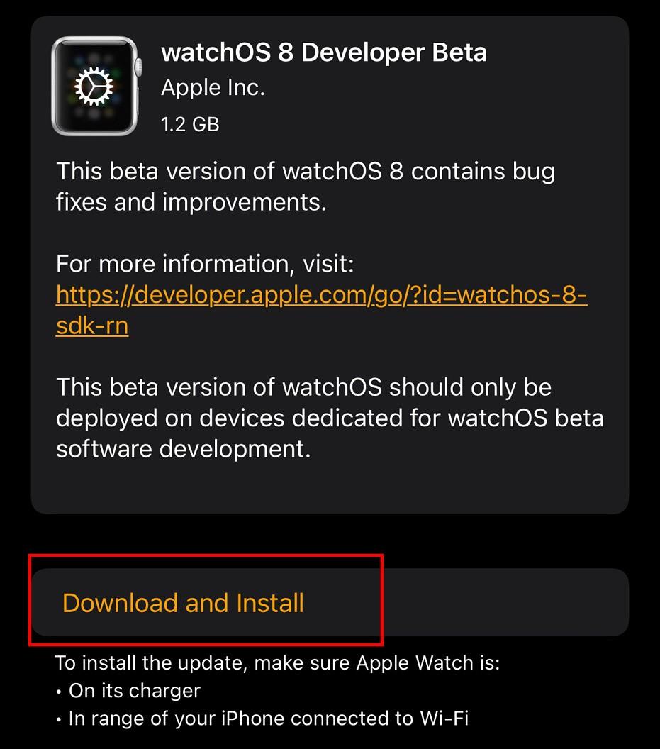 Instalar-watchOS8-Beta-4