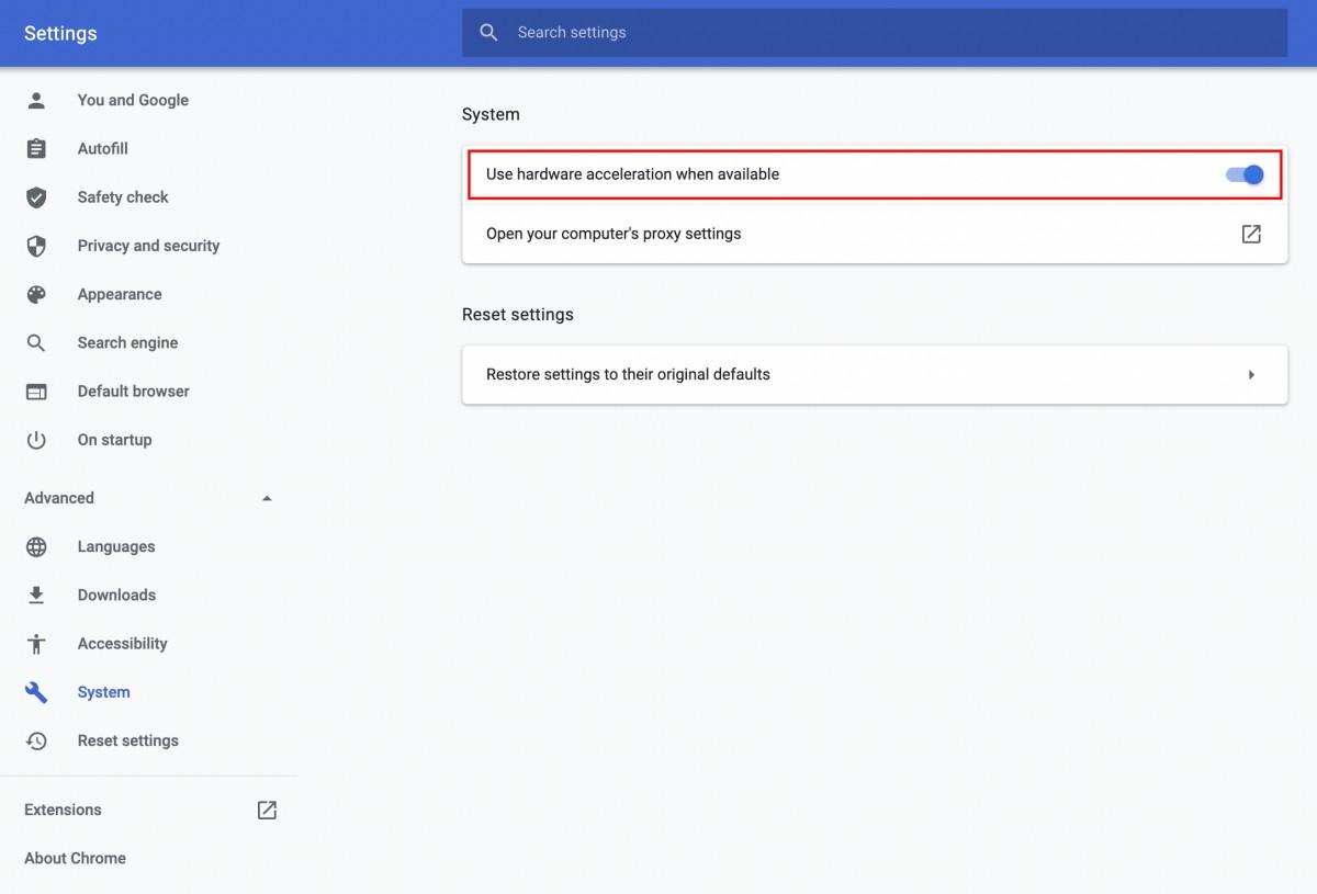 Desactivar-Aceleración-Hardware-Chrome