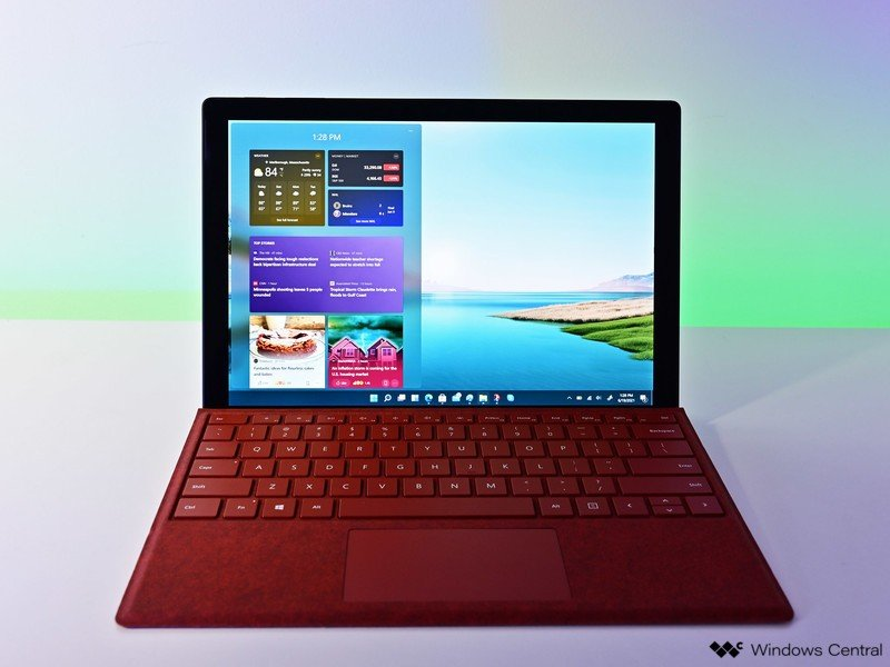 Widget de Surface Pro de Windows 11