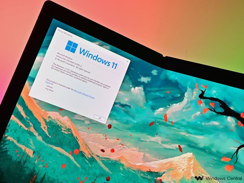 Logotipo de Windows 11 de 6 capas