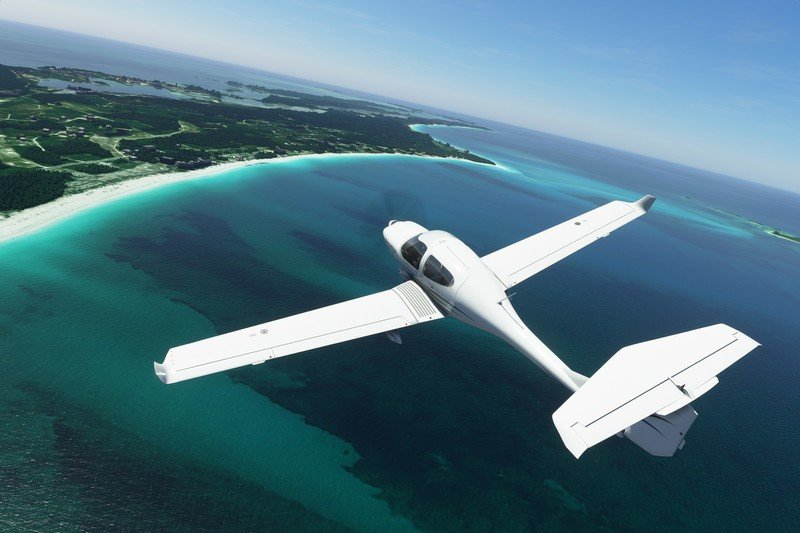 Microsoft Flight Simulator 2020 Diamant DA 40