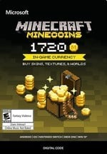 Tarjeta de regalo Minecraft Minecoin Reco
