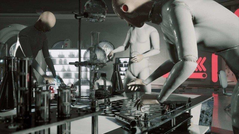 Robots de núcleo atómico