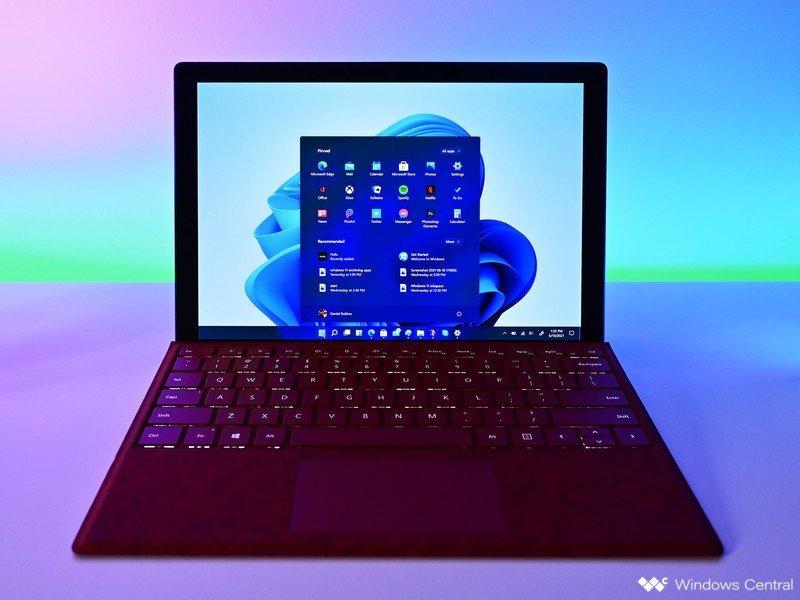Windows 11 Iniciar iluminación Surfacepro