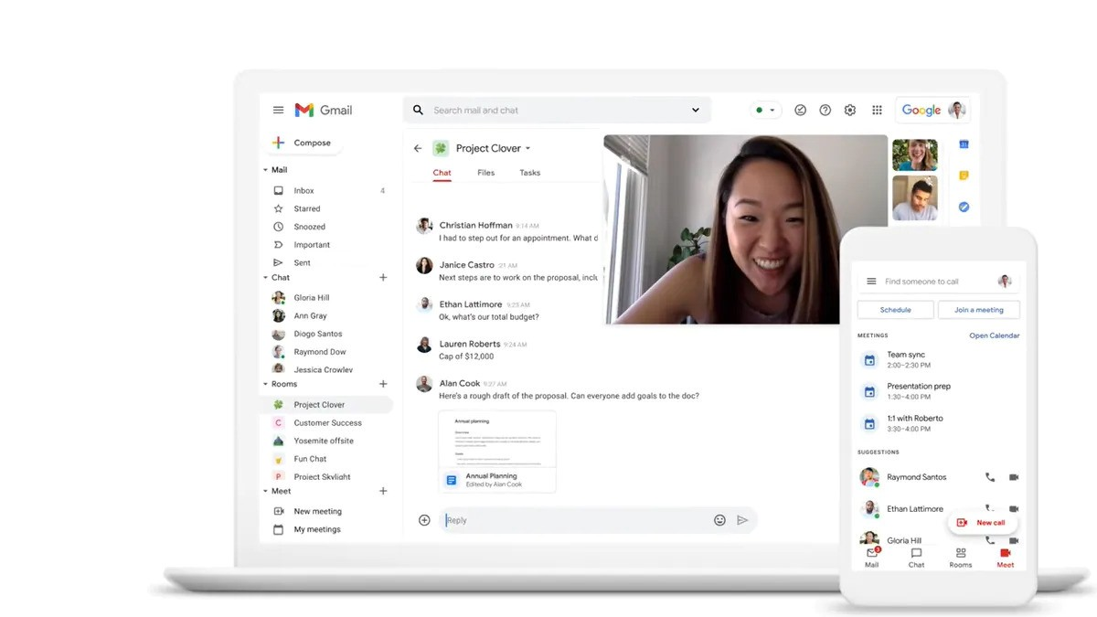 Gmail-Google-Chat
