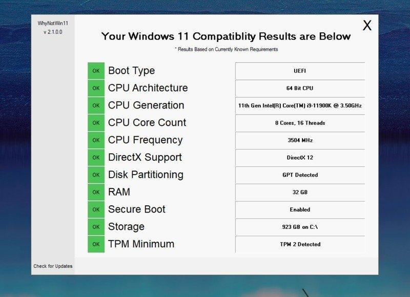 Whynotwin11 resultados
