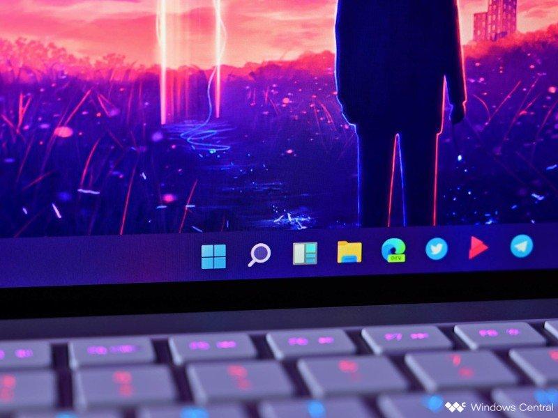 Barra de tareas del icono de Windows 11 Razebook
