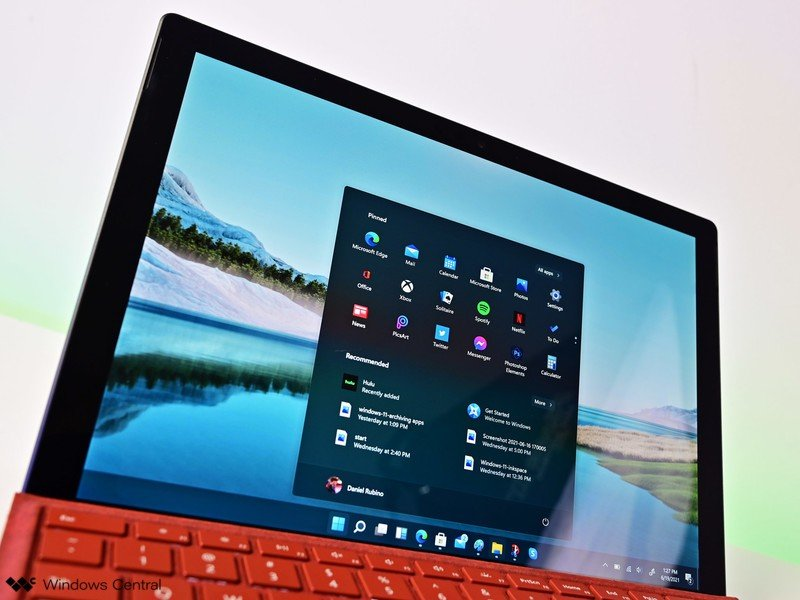 Windows 11 Iniciar Surfacepro