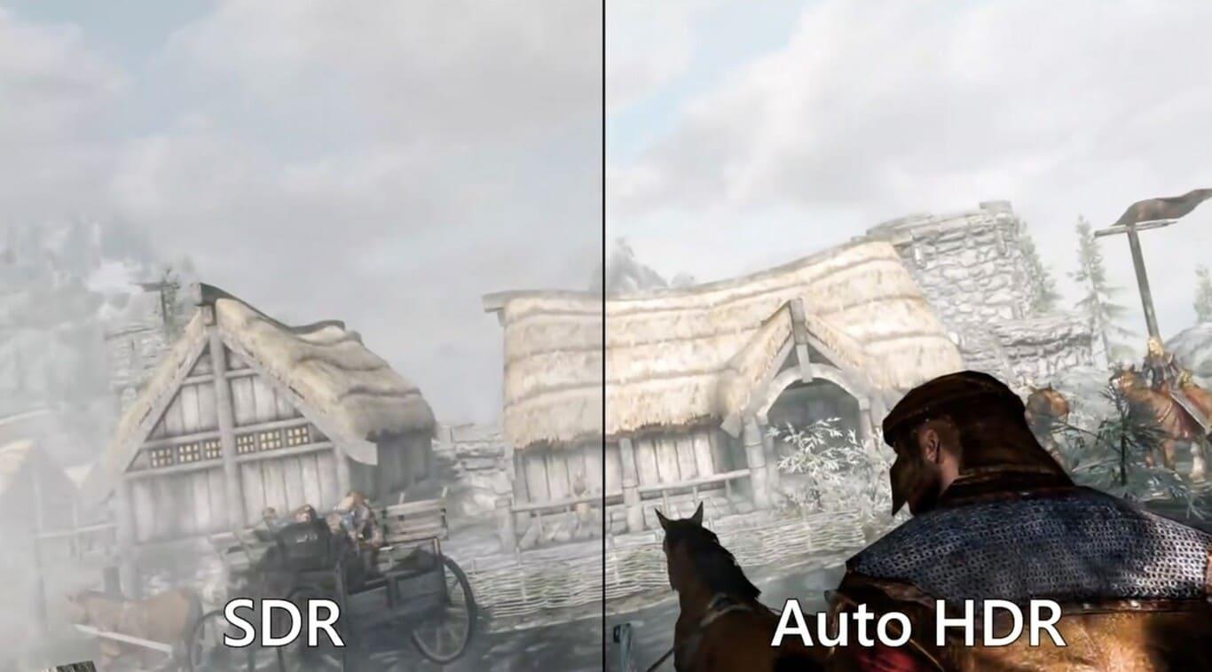 HDR automático en Windows 11