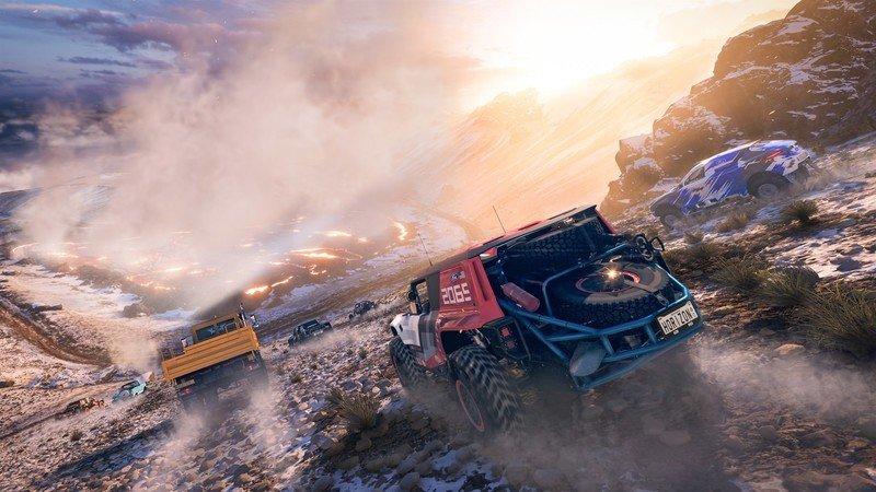 Captura de pantalla de la tienda de Forza Horizon 5