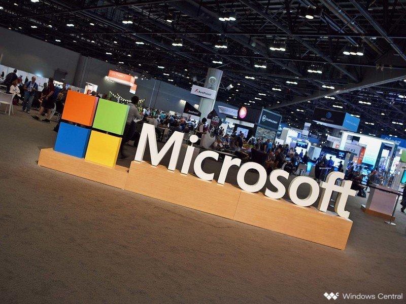 Logotipo de Microsoft en Ignite