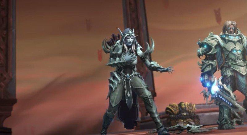 Alma de Sylvanas de World Of Warcraft