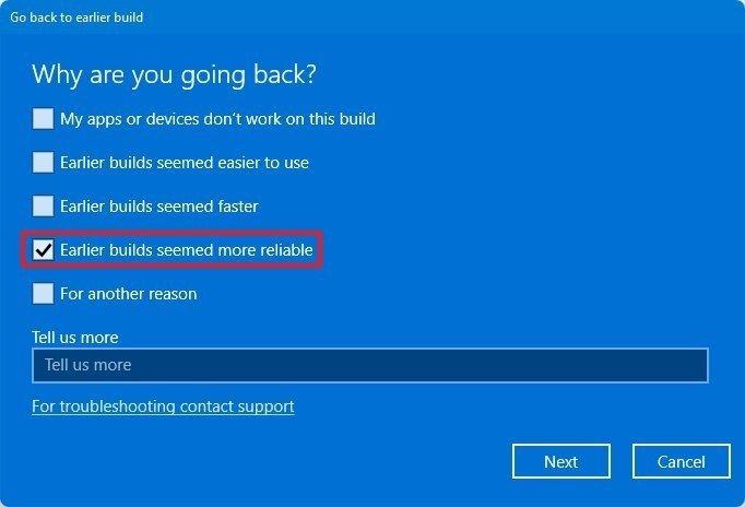 Windows 11 elimina razones